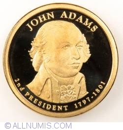 Imaginea #1 a 1 Dollar 2007 S - John Adams  Proof