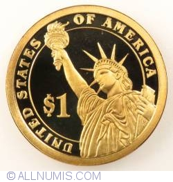 Imaginea #2 a 1 Dollar 2007 S - John Adams  Proof