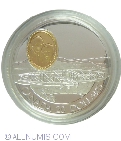 Image #2 of 20 Dollars 1991 - Canadian Aviation Series - The Silver Dart