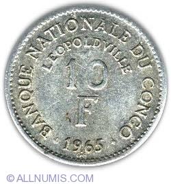 Image #2 of 10 Francs 1965