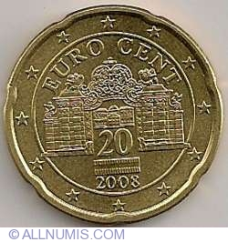 Image #2 of 20 Euro Cent 2008