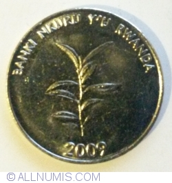 Image #2 of 20 Francs 2009