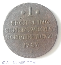 Image #1 of 1 Sechsling 1787