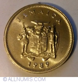 Image #2 of 5 Cents 1989