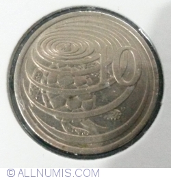 Image #1 of 10 Cents 1977