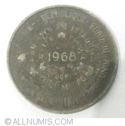 Image #2 of 10 Francs 1968