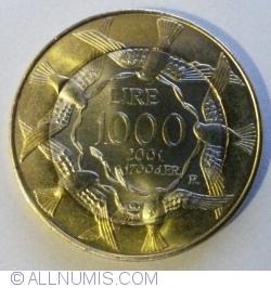 Imaginea #1 a 1000 Lire 2001