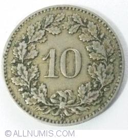 Image #1 of 10 Rappen 1879