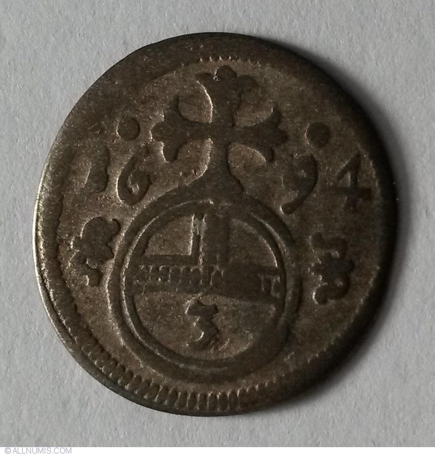 3 Pfennig 1694 ...