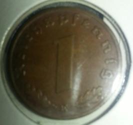 Image #1 of 1 Reichspfennig 1939 E