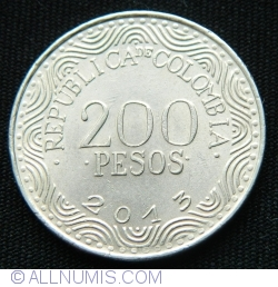 Image #1 of 200 Pesos 2013
