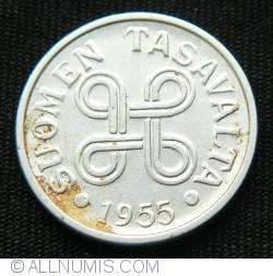 5 Markkaa 1955
