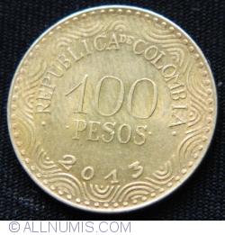 Image #1 of 100 Pesos 2013
