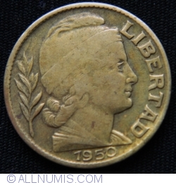 Image #2 of 20 Centavos 1950