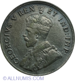 Image #1 of 1 Shilling 1921 H