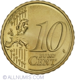 Image #2 of 10 Euro Cent 2014