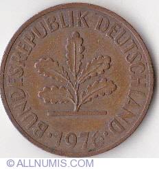 Image #2 of 2 Pfennig 1976 J