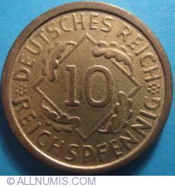 Image #1 of 10 Reichspfennig 1925 A
