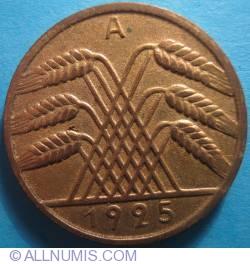 Image #2 of 10 Reichspfennig 1925 A