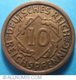 Image #1 of 10 Reichspfennig 1925 G