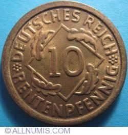 Image #1 of 10 Rentenpfennig 1924 F