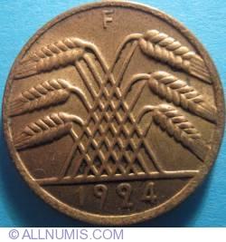 Image #2 of 10 Rentenpfennig 1924 F