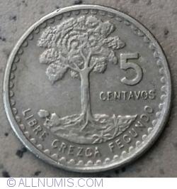 Imaginea #1 a 5 Centavos 1971