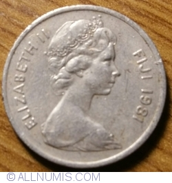 Image #2 of 5 Cents 1981