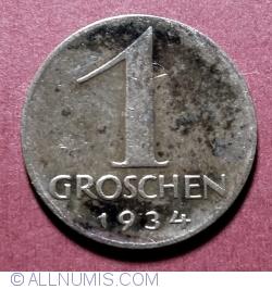 Image #1 of 1 Groschen 1934
