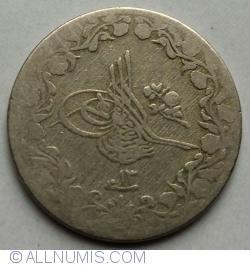 Imaginea #2 a 5/10 Qirsh 1887(AH1293/13)