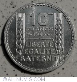 Image #1 of 10 Francs 1946