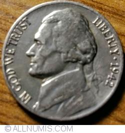 Image #2 of Jefferson Nickel 1942 P