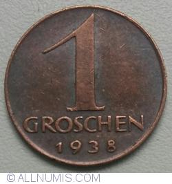 Image #1 of 1 Groschen 1938