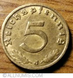 Image #1 of 5 Reichspfennig 1938 J