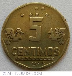 Image #1 of 5 Centimos 1992