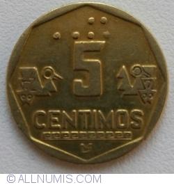Image #1 of 5 Centimos 1995