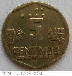 Image #1 of 5 Centimos 1996