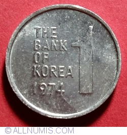 Image #1 of 1 Won 1974