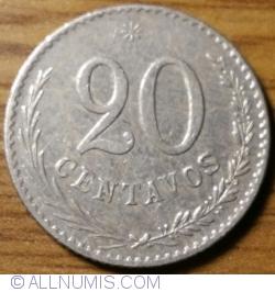 Imaginea #1 a 20 Centavos 1900