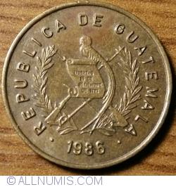 Imaginea #2 a 1 Centavo 1986