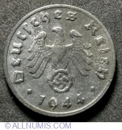 1 Reichspfennig 1944 D