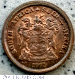 Image #2 of 1 Cent 1992