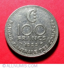 Imaginea #1 a 100 Francs 1999 F.A.O