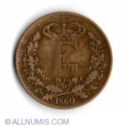 1 Rigsmontskilling 1860