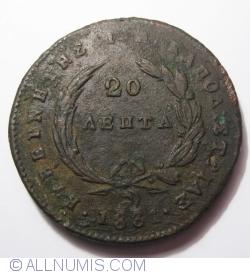 Imaginea #2 a 20 Lepta 1831