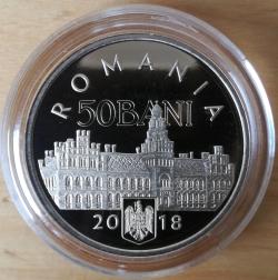 Imaginea #1 a 50 bani 2018, 100 de ani de la Unirea Bucovinei cu Romania