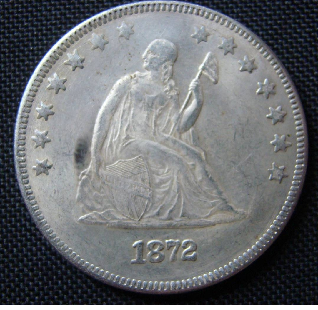 Counterfeit 1 Dollar 1872 Counterfeits United States