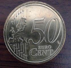 50 Euro Cent 2018