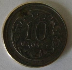 Imaginea #1 a [EROARE] 10 Groszy 2001