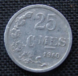 Image #1 of 25 Centimes 1960